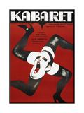 CABARET, Polish poster, Liza Minelli, 1972, Art