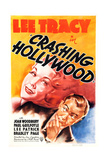 CRASHING HOLLYWOOD, US poster art, from left: Joan Woodbury, Lee Tracy, 1938 Prints