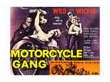 MOTORCYCLE GANG, 1957 Art