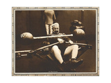 IT PAYS TO EXERCISE, Chester Conklin on lobbycard, 1918 Prints