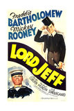 LORD JEFF, US poster art, from left: Mickey Rooney, Freddie Bartholomew, 1938 Posters
