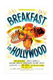 BREAKFAST IN HOLLYWOOD, US poster, Tom Breneman, 1946 Poster