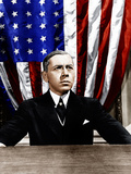 WILSON, Alexander Knox (as President Woodrow Wilson), 1944. Photo