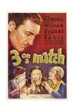 THREE ON A MATCH, Warren William, Bette Davis, Joan Blondell, Ann Dvorak, 1932 Prints