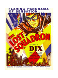 THE LOST SQUADRON, top: Richard Dix on window card, 1932. Prints