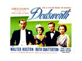 DODSWORTH, from left: Paul Lukas, Ruth Chatterton, Walter Huston, Mary Astor, 1936. Poster