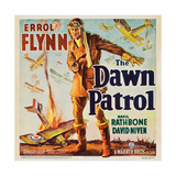 THE DAWN PATROL, Errol Flynn, 1938. Premium Giclee Print