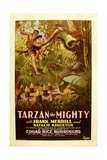 TARZAN THE MIGHTY, Frank Merrill, 1928. Posters