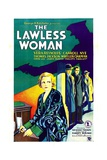 THE LAWLESS WOMAN, far left: Vera Reynolds, 1931. Poster