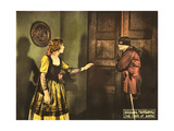 THE MARK OF ZORRO, Marguerite de la Motte, Douglas Fairbanks, Sr., 1920 Print