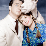 TAMMY AND THE BACHELOR, from left: Leslie Nielsen, Debbie Reynolds, 1957 Prints
