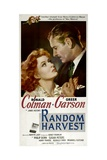 RANDOM HARVEST, from left: Greer Garson, Ronald Colman, 1942. Prints