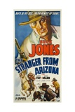 THE STRANGER FROM ARIZONA, top: Buck Jones, 1938. Posters