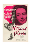 MILDRED PIERCE, top right: Joan Crawford, bottom from left: Zachary Scott, Jack Carson, 1945. Prints