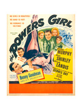 THE POWERS GIRL, bottom left: Benny Goodman on window card, 1943. Prints