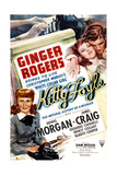 KITTY FOYLE, Ginger Rogers, Dennis Morgan, 1940 Prints