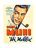 HI, NELLIE, Paul Muni, 1934. Plakát
