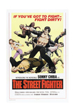 THE STREET FIGHTER, (aka THE STREETFIGHTER, aka GEKITOTSU! SATSUJIN KEN), Sonny Chiba, 1974 Art
