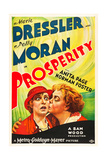 PROSPERITY, from left on US poster art: Polly Moran, Marie Dressler, 1932 Posters