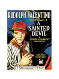 A SAINTED DEVIL, Rudolph Valentino, 1924, gaucho Posters