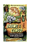 DRUMS OF THE CONGO, US poster, Dorothy Dandridge, 1942 Posters