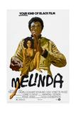 MELINDA, US poster, Calvin Lockhart, Rosalind Cash, 1972 Prints