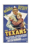 THE TEXANS, Randolph Scott, Joan Bennett, 1938 Prints