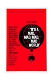 IT'S A MAD, MAD, MAD, MAD WORLD, poster art, 1963. Prints