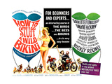 HOW TO STUFF A WILD BIKINI, half-sheet poster, 1965. Prints