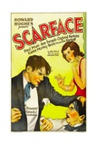 SCARFACE, from left: Paul Muni, Ann Dvorak, 1932. Prints