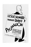 PYGMALION, US ad art, George Bernard Shaw, 1938. Prints