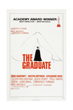 THE GRADUATE, US poster, Dustin Hoffman, 1967 Prints