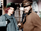 RANDOM HARVEST, from left: Greer Garson, Ronald Colman, 1942 Plakát