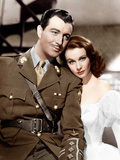 WATERLOO BRIDGE, from left: Robert Taylor, Vivien Leigh, 1940 Photo