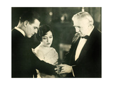 UNTAMED LADY, l-r: Lawrence Gray, Gloria Swanson, Joseph W. Smiley, 1926. Art