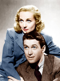 MADE FOR EACH OTHER, from top: Carole Lombard, James Stewart, 1939 Photo