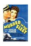 MURDER IN THE FLEET, top from left: Robert Taylor, Jean Parker, 1935 Posters