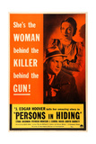 PERSONS IN HIDING, US poster art, from top: Patricia Morison, J. Carrol Naish, 1939 Posters