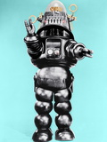 FORBIDDEN PLANET, Robby the Robot, 1956 Kunstdruck