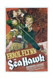 THE SEA HAWK, Brenda Marshall, Errol Flynn, 1940 Prints