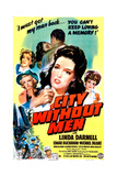 CITY WITHOUT MEN, US poster, Linda Darnell, 1943 Print