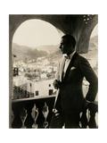 Rudolph Valentino, portrait ca. 1920s. Print