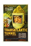 TRANSATLANTIC TUNNEL (aka THE TUNNEL), Richard Dix, 1935. Prints