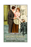 EXPERIMENTAL MARRIAGE, from left: Harrison Ford, Constance Talmadge, 1919 Poster