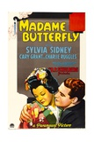 MADAME BUTTERFLY, Sylvia Sidney, Cary Grant, 1932 Prints