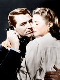 NOTORIOUS, from left: Cary Grant, Ingrid Bergman, 1946 Posters