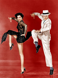 THE BAND WAGON, from left: Cyd Charisse, Fred Astaire, 1953 Foto