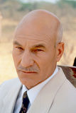 GUNMEN, Patrick Stewart, 1994. ©Dimension Films/courtesy Everett Collection Photo