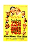 YOU CAN'T TAKE IT WITH YOU, James Stewart, Jean Arthur, 1938. Posters
