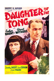 DAUGHTER OF THE TONGS, US poster art, top from left: Evelyn Brent, Dave O'Brien, 1939 Posters